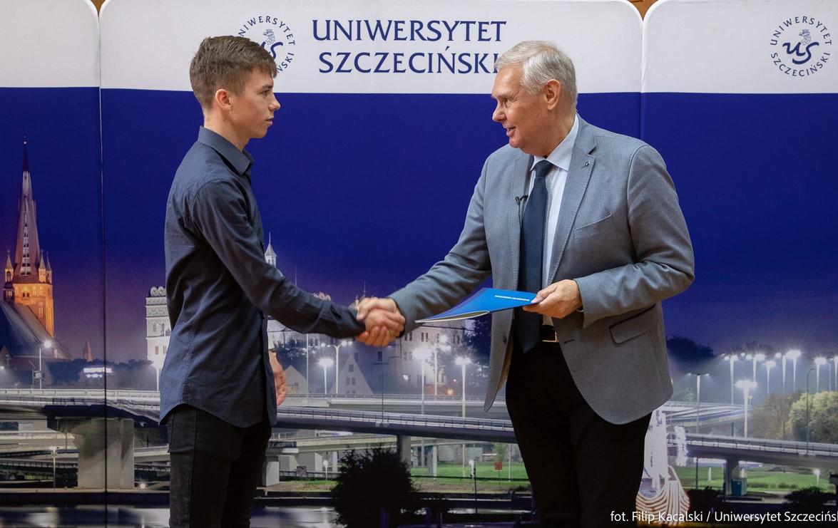Student US Kacper Smoliński brązowym medalistą Ekstraklasy – Uniwersytet Szczeciński